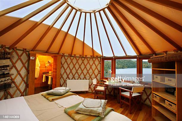 Yurt Interior Patagonia Camp Chile
