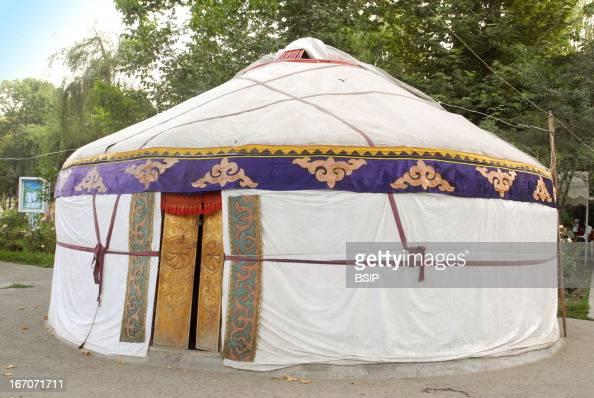 Yurt Yurt in Osh Kyrgyzstan Central asia