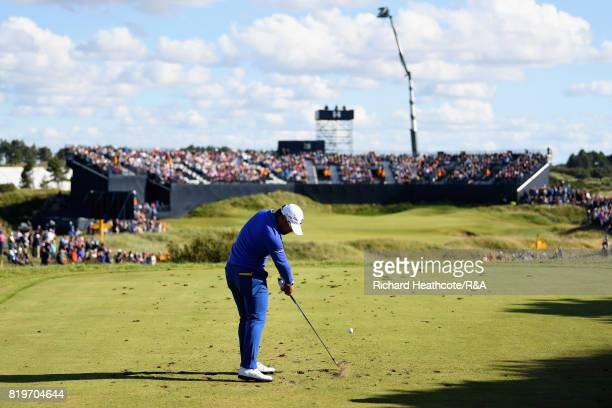 Yusaku Miyazato of Japan on the 14th tee during the first round of the 146th Open Championship at Royal Birkdale on July 20 2017 in Southport England