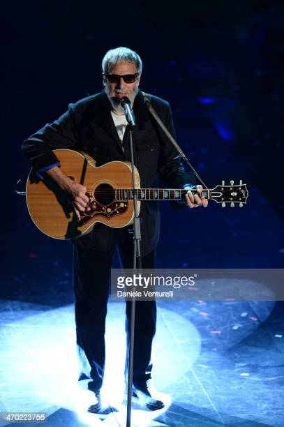 Yusuf Islam attends opening night of the 64th Festival di Sanremo 2014 at Teatro Ariston on February 18 2014 in Sanremo Italy
