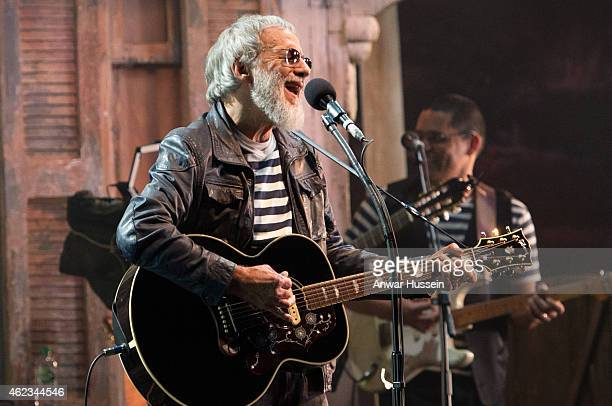 Yusuf Islam formerly known as Cat Stevens performs at the Hammersmith Apollo on November 05 2014 in London England