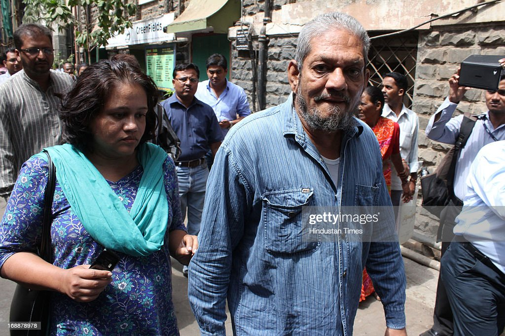 Yusuf Nulwala one of the accused in 1993 Mumbai bomb blast case arrives at TADA Session Court on May 16, 2013 in Mumbai, India. Nulwala had picked up the AK-56 rifle from the house of Sanjay Dutt as per the instructions of the actor and given the weapon to Kersi to destroy it. He was sentenced to five years in prison.