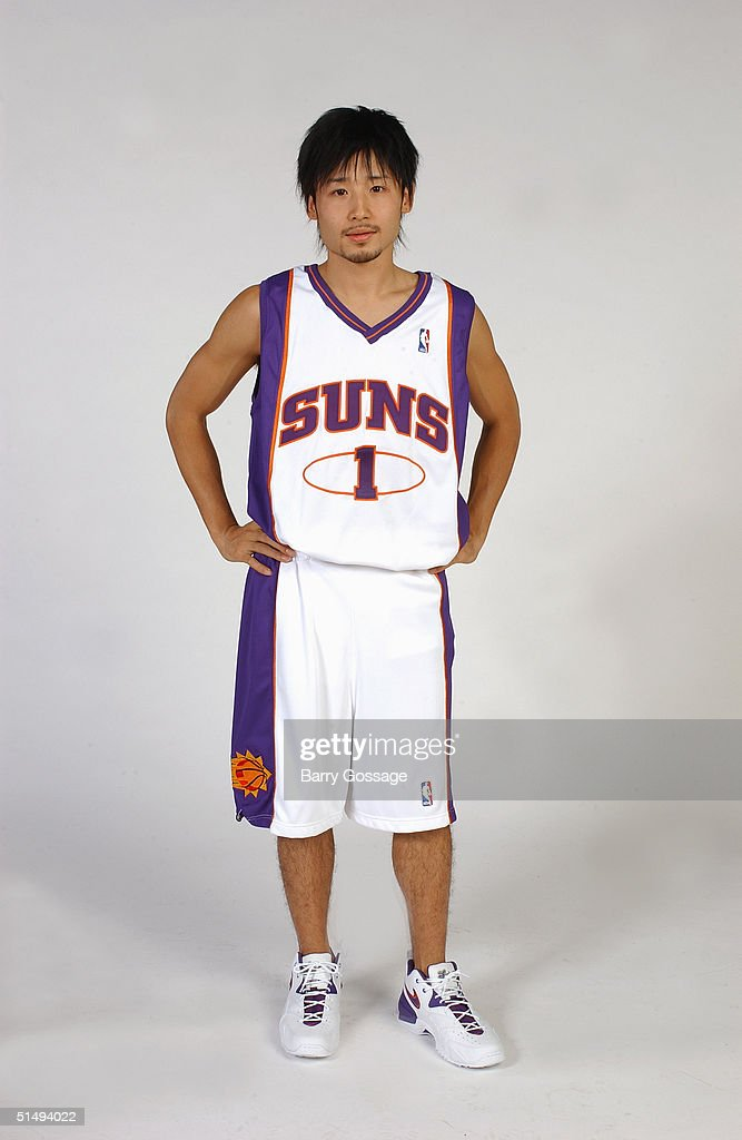 Yuta Tabuse #1 of the Phoenix Suns poses for a portrait during NBA Media Day on October 4, 2004 in Phoenix, Arizona.