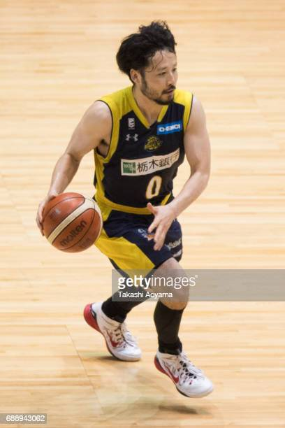 Yuta Tabuse of the Tochigi Brex in action during the B League final match between Kawasaki Brave Thunders and Tochigi Brex at Yoyogi National...