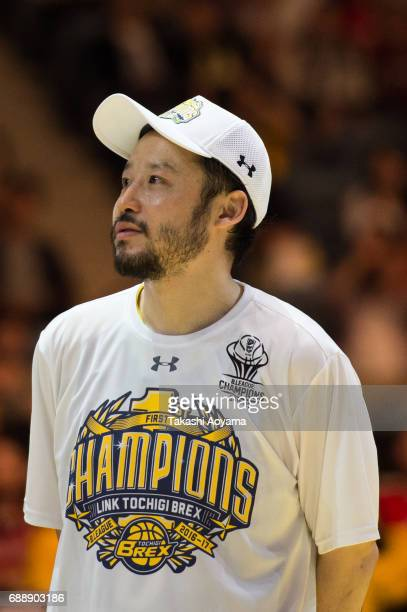 Yuta Tabuse of the Tochigi Brex looks on after the B League final match between Kawasaki Brave Thunders and Tochigi Brex at Yoyogi National Gymnasium...