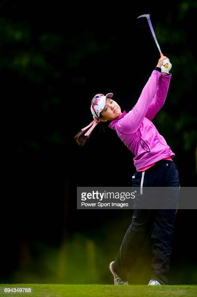 Yuting Shi of China in action during the Hyundai China Ladies Open 2014 on December 12 in Shenzhen China