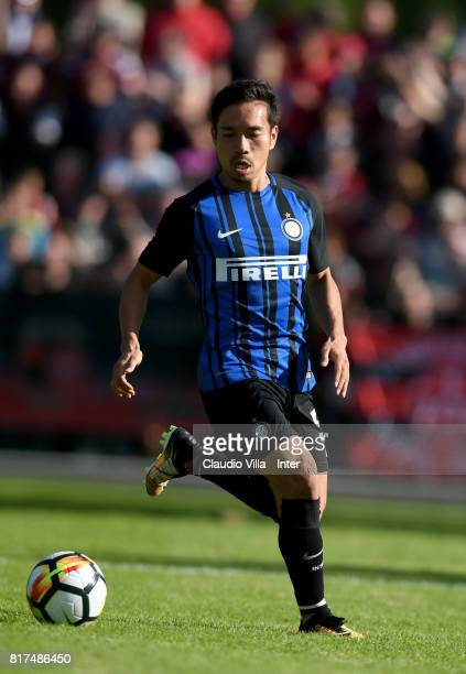 Yuto Nagatomo of FC Internazionale in action during the PreSeason Friendly match between FC Internazionale and Nurnberg on July 15 2017 in Bruneck...