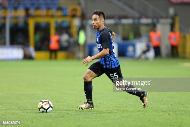 Yuto Nagatomo of FC Internazionale in action during the Serie A match between FC Internazionale and ACF Fiorentina Internazionale Fc wins 30 over ACF...