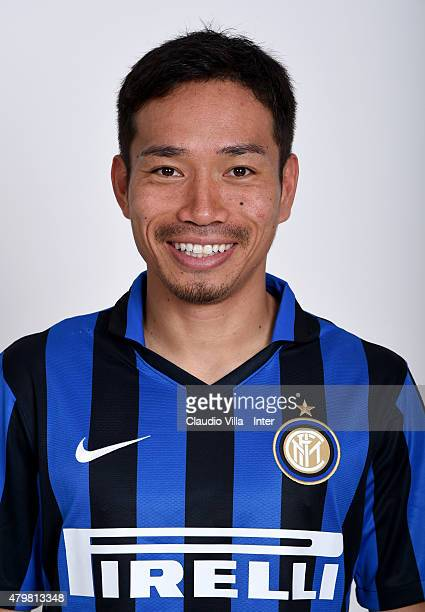 Yuto Nagatomo of FC Internazionale poses for his Serie A 20152016 season official headshot at Riscone di Brunico on July 7 2015 in Bruneck Italy