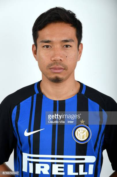 Yuto Nagatomo of FC Internazionale poses on July 12 2017 in Reischach near Bruneck Italy