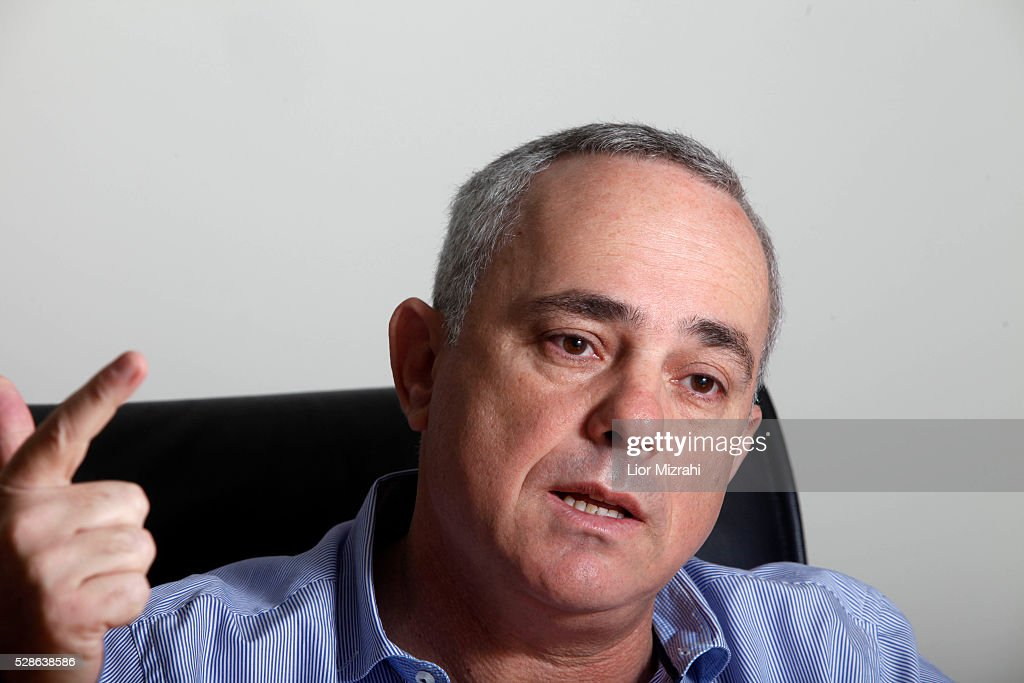 Yuval Steinitz Israel's minister of finance speaks during an interview in his office on November 14 2012 in Jerusalem Israel