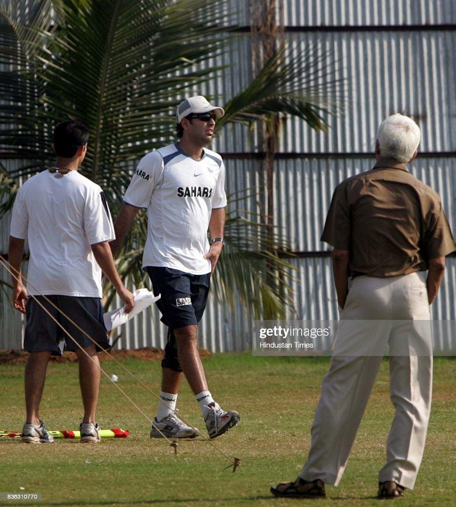 Yuvaraj Singh practising at MCA in BKC Ht.