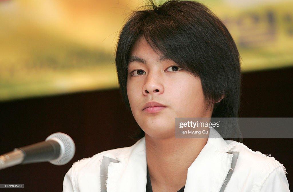 Yuya Yagira during Nobody Knows Seoul Press Conference at Shilla Hotel in Seoul South South Korea