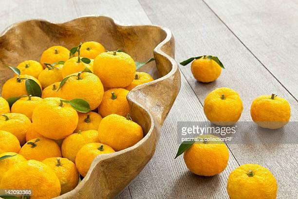Yuzu Fruits in Fruit Bowl