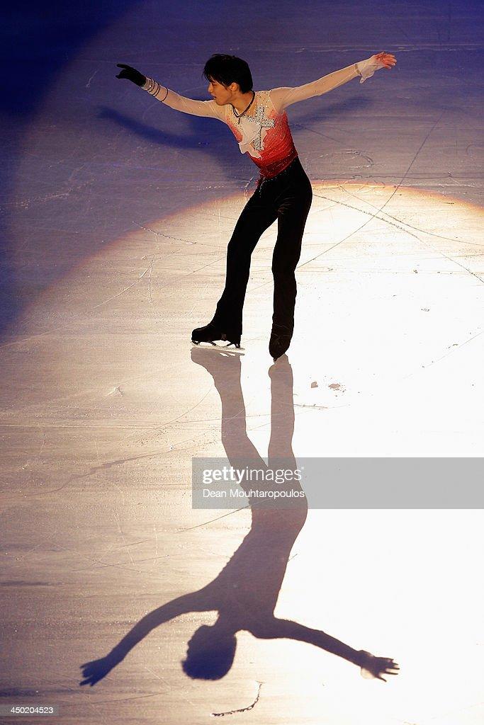 Trophee Eric Bompard ISU Grand Prix of Figure Skating 2013/2014 - Day 3