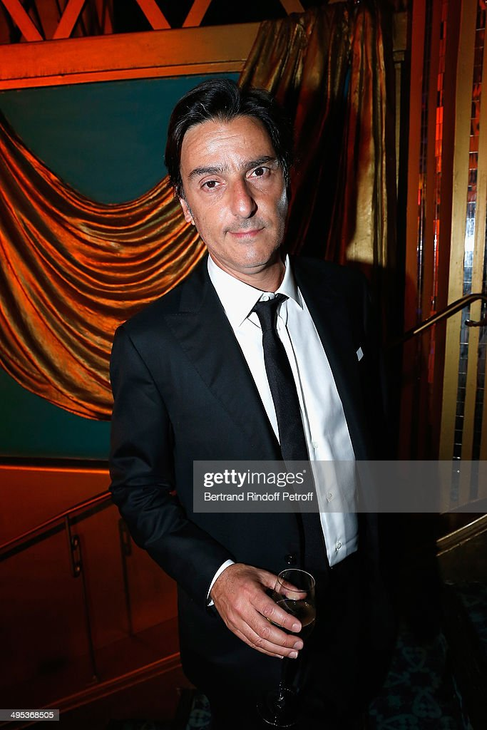 Yvan Attal attends the 26th Molieres Awards Ceremony at Folies Bergere on June 2, 2014 in Paris, France.