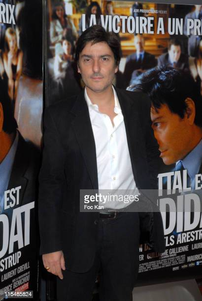 Yvan Attal during 'Le Candidat' Paris Premiere Photo Call at UGC Cine Cite Les Halles in Paris France