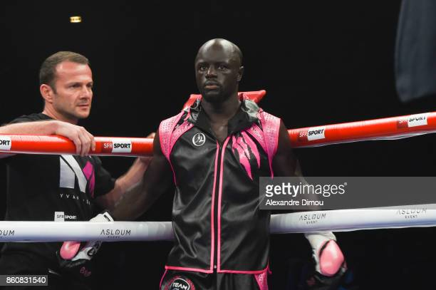 Yvan Mendy during the Boxitanie Event on October 12 2017 in Montpellier France