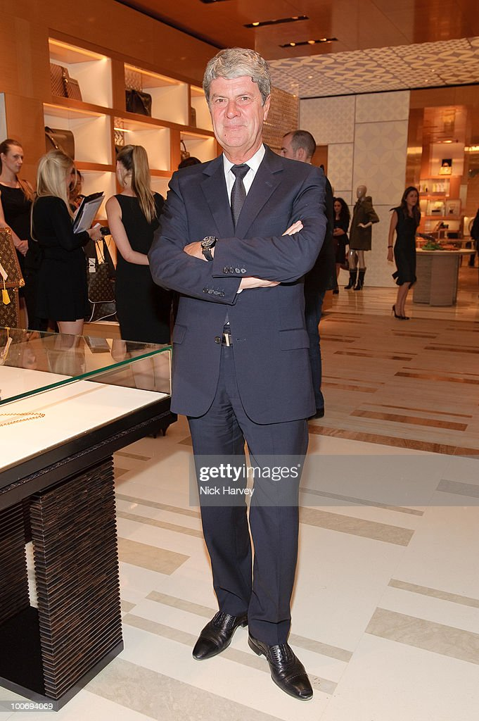 Yves Carcelle attends the launch of the Louis Vuitton Bond Street Maison on May 25 2010 in London England