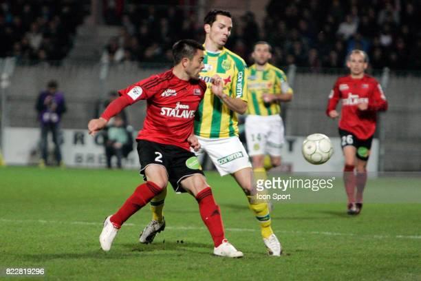 Yves DEROFF / Kevin LEJEUNE Guingamp / Nantes 32eme journee de Ligue 2 Stade du Roudourou Guingamp