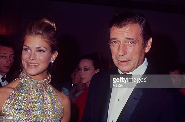 Yves Montand with Candice bergen at the Paris Opera House circa 1970 New York