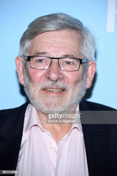Yves Pignot attends 'Knock' Premiere at Cinema UGC Normandie on October 16 2017 in Paris France