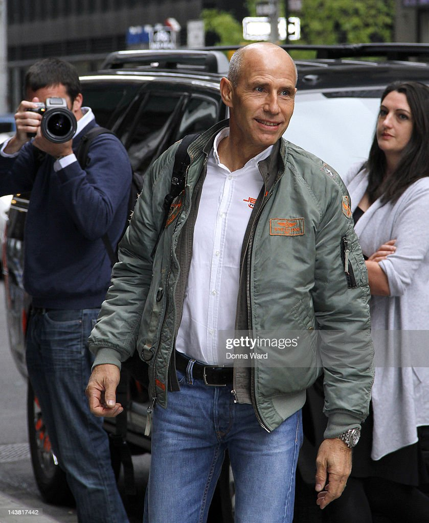 <a gi-track='captionPersonalityLinkClicked' href=/galleries/search?phrase=Yves+Rossy&family=editorial&specificpeople=4206854 ng-click='$event.stopPropagation()'>Yves Rossy</a> arrives for 'The Late Show with David Letterman' at Ed Sullivan Theater on May 3, 2012 in New York City.