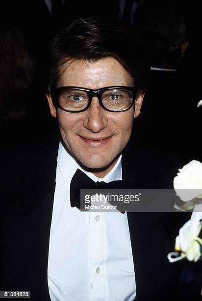 Yves Saint Laurent attends at party in Paris France
