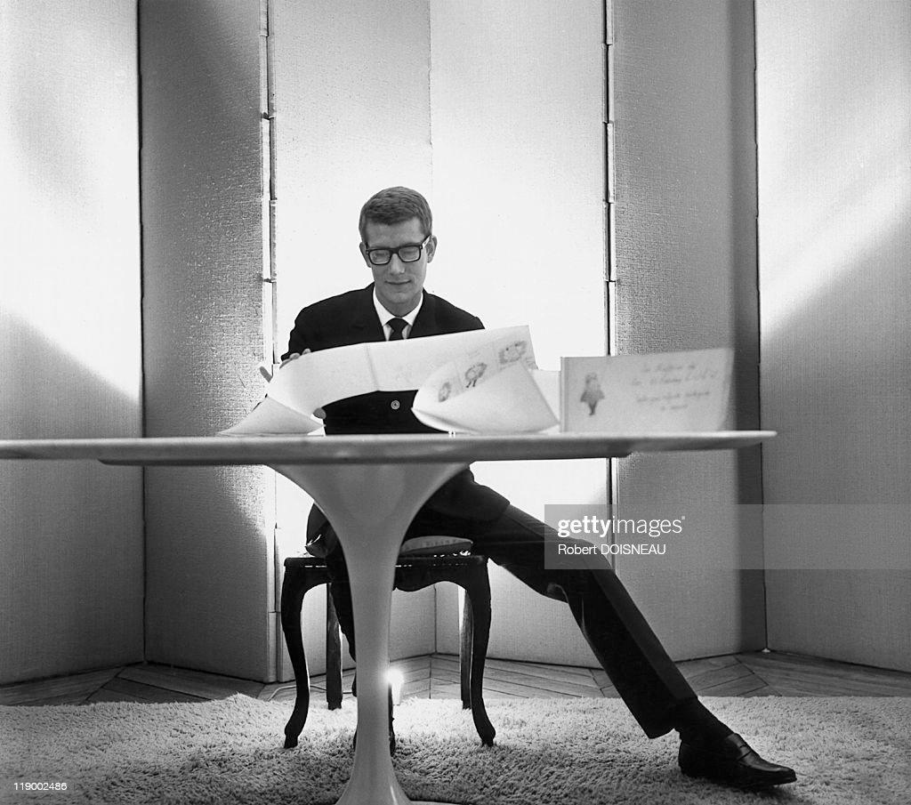 Yves Saint Laurent In Paris, 1964