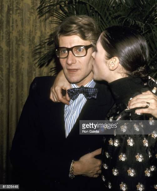 Yves St Laurent and Maria Schiano