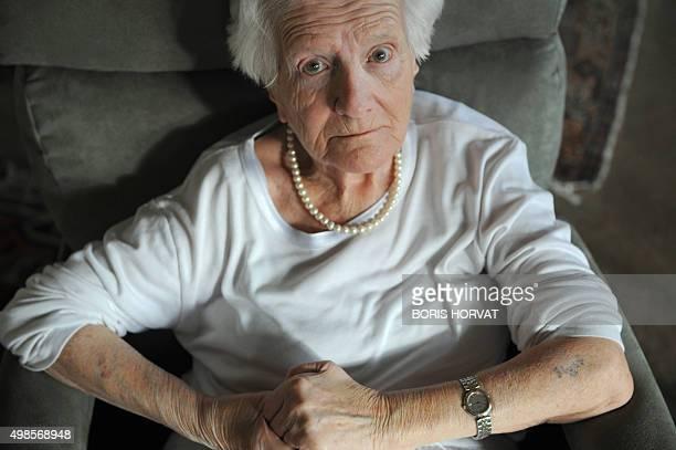 Yvette Farnoux huitième française de l'histoire grand' croix de la Légion d'Honneur élevée à la plus haute dignité de l'ordre lors de la promotion du...