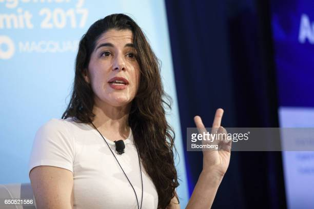 Yvette MartinezRea chief operating officer of ESL Gaming speaks during the Montgomery Summit in Santa Monica California US on Thursday March 9 2017...
