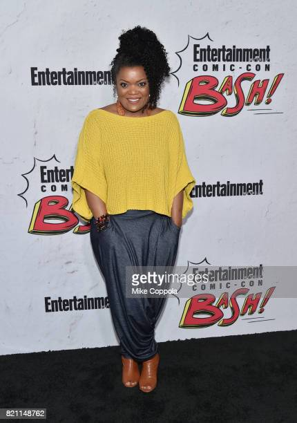 Yvette Nicole Brown at Entertainment Weekly's annual ComicCon party in celebration of ComicCon 2017 at Float at Hard Rock Hotel San Diego on July 22...