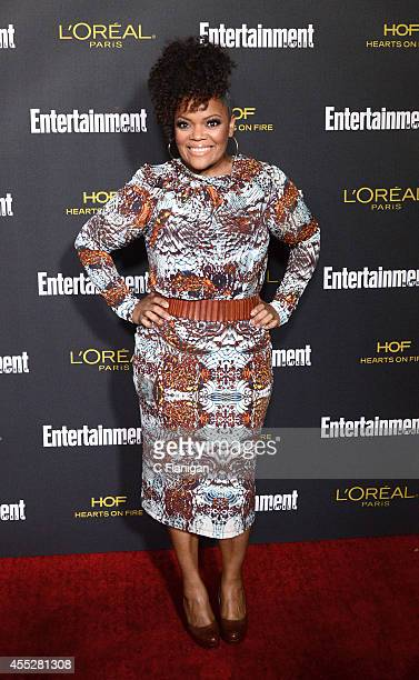 Yvette Nicole Brown attends the 2014 Entertainment Weekly PreEmmy Party at Fig Olive Melrose Place on August 23 2014 in West Hollywood California