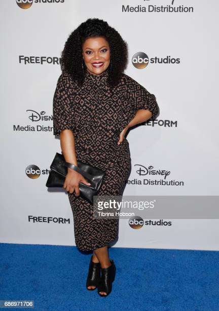 Yvette Nicole Brown attends the 2017 ABC/Disney Media Distribution International Upfronts at Walt Disney Studio Lot on May 21 2017 in Burbank...