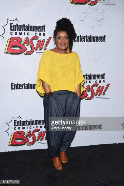 Yvette Nicole Brown attends the Entertainment Weekly's Annual ComicCon Party 2017 at Float at Hard Rock Hotel San Diego on July 22 2017 in San Diego...