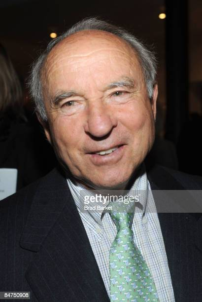 Yvon Chouinard founder and owner of Patagonia attends 1% for The Planet Fete Major Environmental Accomplishments cocktail party on February 11 2009...