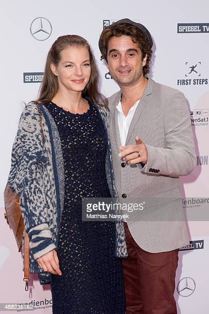 Yvonne Catterfeld and Oliver Wnuk attend the First Steps Awards 2015 at Stage Theater on September 14 2015 in Berlin Germany