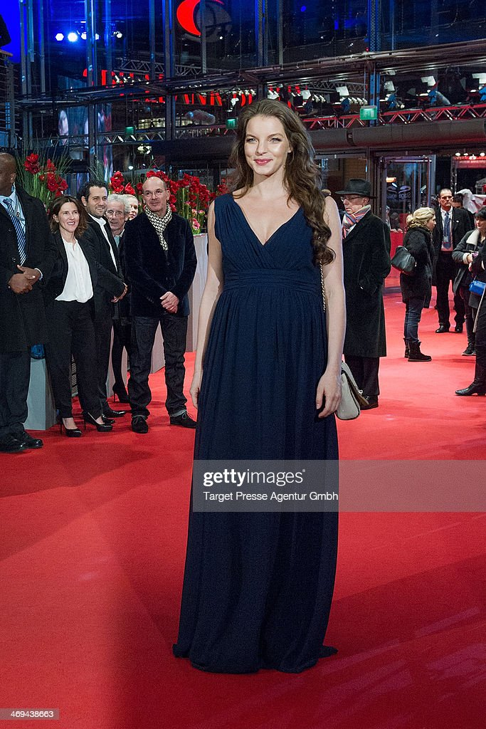 <a gi-track='captionPersonalityLinkClicked' href=/galleries/search?phrase=Yvonne+Catterfeld&family=editorial&specificpeople=228473 ng-click='$event.stopPropagation()'>Yvonne Catterfeld</a> attends the 'La belle et la bete' (Die Schoene und das Biest) premiere during 64th Berlinale International Film Festival at Berlinale Palast on February 14, 2014 in Berlin, Germany.