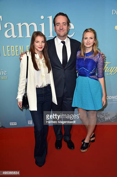 Yvonne Catterfeld Matthew Macfadyen and Eliza Bennett attend 'Die Trapp Familie Ein Leben fuer die Musik' German Premiere at Gloria Palast on...