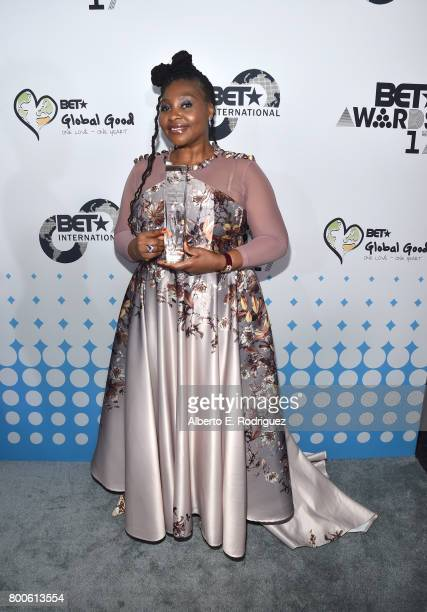 Yvonne Chaka Chaka attends the 2017 BET International Awards Presentation at Microsoft Theater on June 24 2017 in Los Angeles California