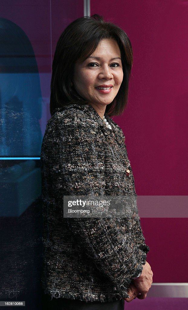 Yvonne Chia, chief executive officer and group managing director of Hong Leong Bank Bhd., poses for a portrait in Kuala Lumpur, Malaysia, on Wednesday, Feb. 27, 2013. Hong Leong Bank, the Malaysian lender controlled by billionaire Quek Leng Chan, plans to boost profit from overseas to as much as 20 percent of earnings as trade in Southeast Asia grows and emerging markets recover. Photographer: Goh Seng Chong/Bloomberg via Getty Images
