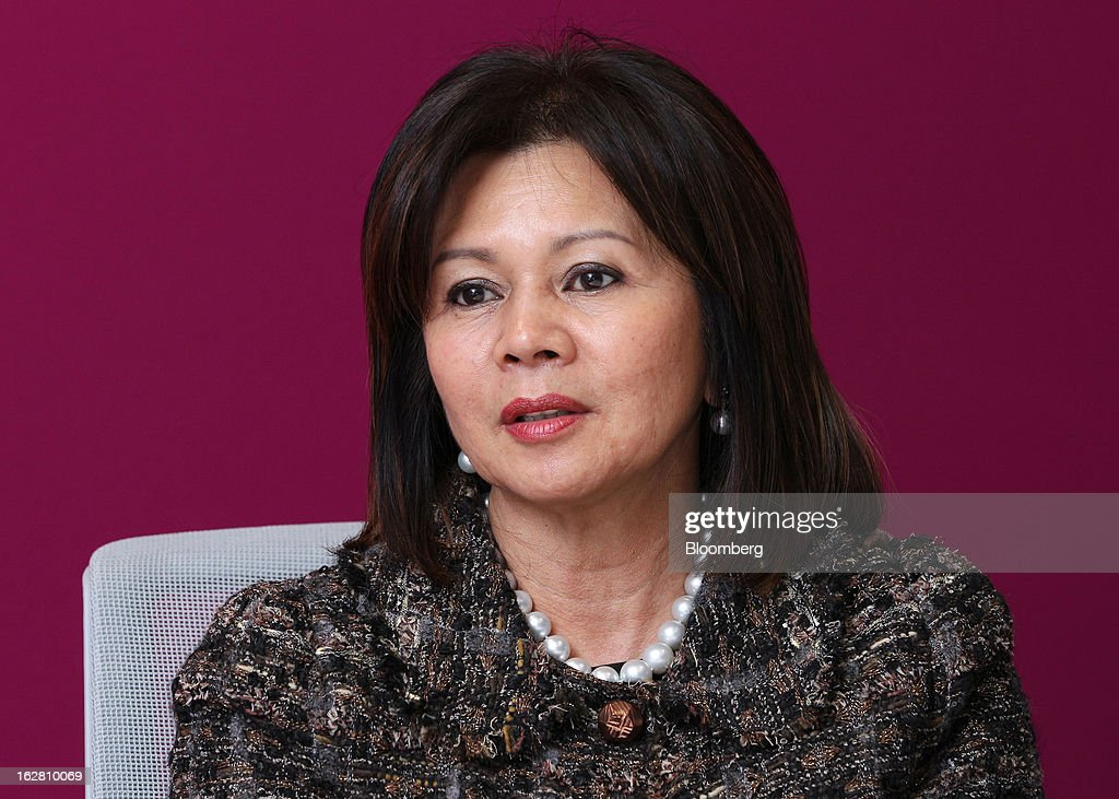 Yvonne Chia, chief executive officer and group managing director of Hong Leong Bank Bhd., speaks during an interview in Kuala Lumpur, Malaysia, on Wednesday, Feb. 27, 2013. Hong Leong Bank, the Malaysian lender controlled by billionaire Quek Leng Chan, plans to boost profit from overseas to as much as 20 percent of earnings as trade in Southeast Asia grows and emerging markets recover. Photographer: Goh Seng Chong/Bloomberg via Getty Images