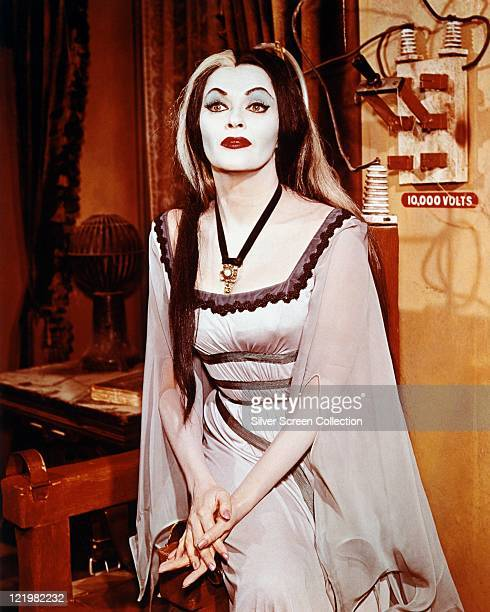 Yvonne De Carlo Canadian actress in costume and makeup in a publicity portrait issued for the television series 'The Munsters' circa 1965 The sitcom...