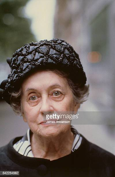 Yvonne de Gaulle the widow of French general Charles de Gaulle