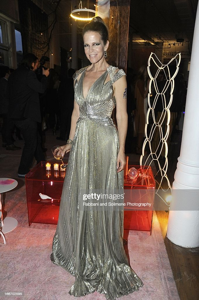 Yvonne Force Villareal attends the 2013 Art Production Fund Gala at ABC Home & Carpet on April 15, 2013 in New York City.