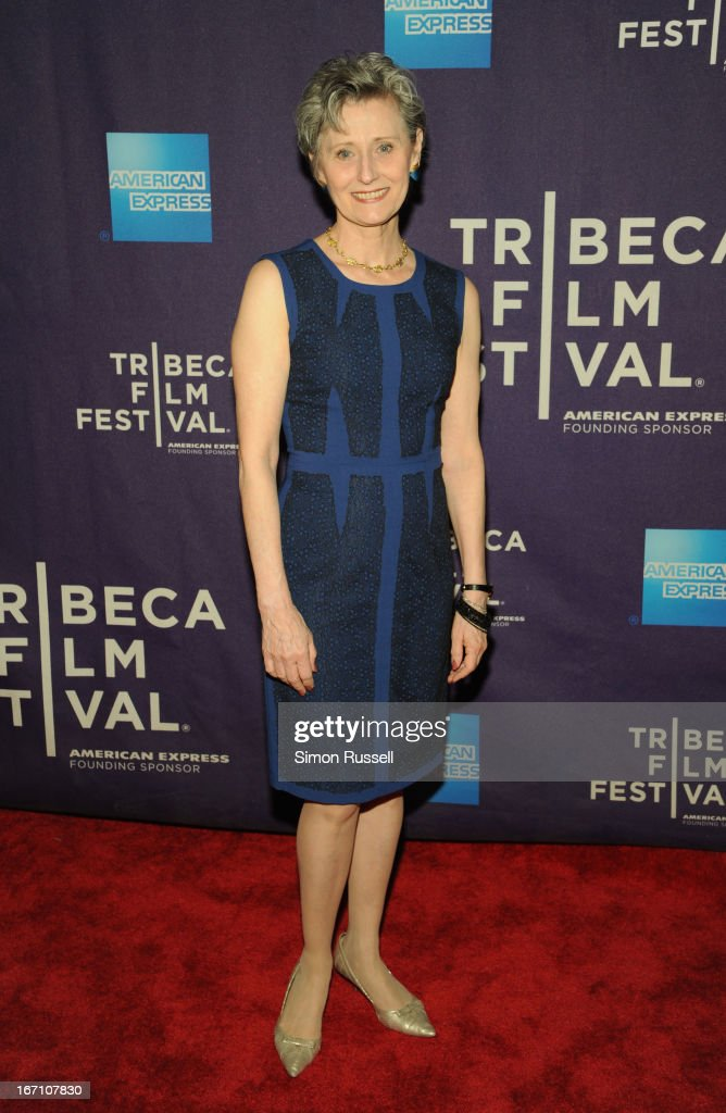 Yvonne Marceau attends the 'Dancing In Jaffa' World Premiere at the AMC Loews Village 7 during the 2013 Tribeca Film Festival on April 20, 2013 in New York City.