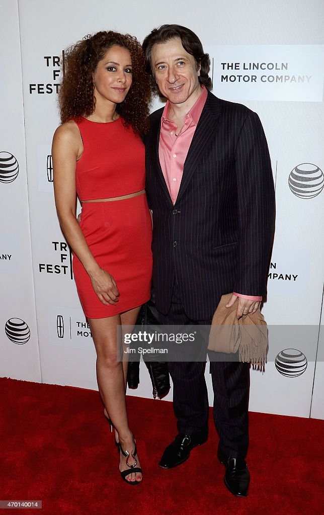 Yvonne Maria Schaefer (L) and actor Federico Castelluccio attend the 2015 Tribeca Film Festival - World Premiere Narrative: 'The Wannabe' at BMCC Tribeca PAC on April 17, 2015 in New York City.