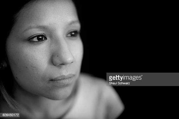 Yvonne Mendoza poses for a portrait Yvonne is a first generation MexicanAmerican whose personal experiences with depression provide perspective in...