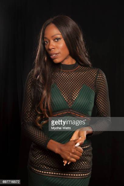 Yvonne Orjii Pose for a Portrait on Day 3 of the American Black Film Festival on June 14 2017 in Miami Florida